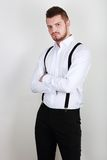Stylish young man Royalty Free Stock Photography