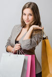 Stylish young shopper. Stock Photography