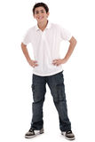 Stylish young teenager full length Royalty Free Stock Image