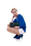 Stylish young woman Stock Image