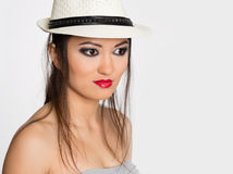 Stylish young woman Asian Stock Images