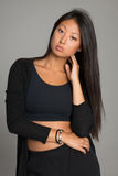 Stylish young woman of Asian Stock Photos