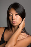 Stylish young woman of Asian Stock Photography