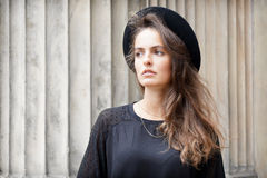 Stylish young woman looking away Stock Photography