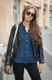 Stylish young woman. Stock Images
