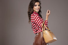 Stylish young woman Royalty Free Stock Photography