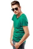 Stylished young man Royalty Free Stock Photography