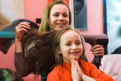 stylista włosów Fotografia Stock