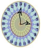 Styliste unique 24 heures d'horloge murale Photographie stock libre de droits