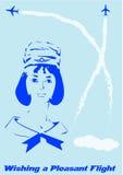 stylization карточки 1960s Стоковые Изображения
