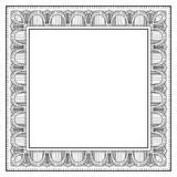 Frame. Stylization of an ancient framework of the beginning of 20 centuries vector illustration