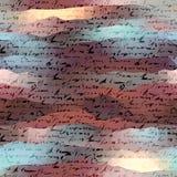Stylization background of the manuscript Stock Photos