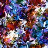 Stylization gráfico del fondo psicodélico abstracto del grunge en una lona texturizada de movimientos borrosos caóticos y de movi libre illustration