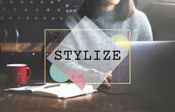 Stylize Class Design Elegant Hipster Trends Concept Royalty Free Stock Images
