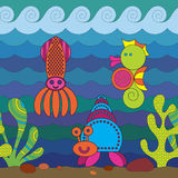 Stylize Fish Stock Image