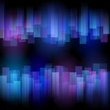 Stylized abstract aurora. Vector background vector illustration
