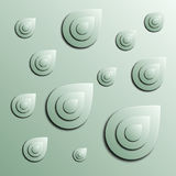 Stylized abstract blobs Stock Images