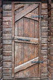 Stylized antique wooden door Stock Image