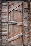 Stylized antique wooden door Stock Image