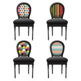 Stylized armchairs Stock Photos