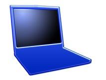 stylized bärbar dator ii royaltyfri illustrationer