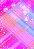 Stylized background for congratulations with New Year and Christmas. Stylized festive background for congratulations with Happy New Year and Merry Christmas Royalty Free Stock Photos