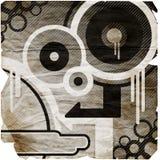 stylized bakgrund degraderad royaltyfri illustrationer