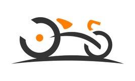 Stylized Bike Race Stock Photo