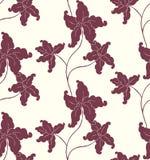 stylized blomma Arkivfoto