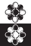 stylized blommabild vektor illustrationer