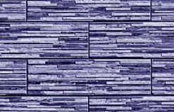 Stylized blue brick wall texture. Abstract background and textutre for design Stock Image