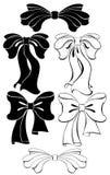 Stylized bow Royalty Free Stock Image