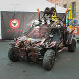 Stylized buggy at the exhibition. Stock Image