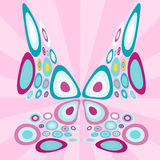 Stylized  butterfly Royalty Free Stock Photo