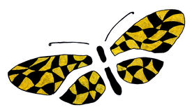 Stylized butterfly Royalty Free Stock Photos