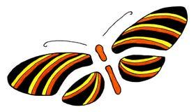 Stylized butterfly Stock Image