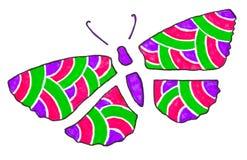 Stylized butterfly Stock Photography