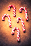 Stylized Candy Canes Royalty Free Stock Photo