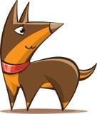Stylized cartoon shepherd dog Stock Photo
