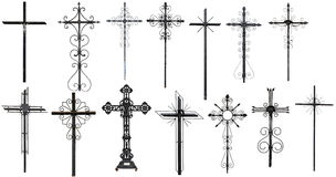 Stylized christian cross Stock Photos