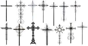 Stylized christian cross Stock Photos