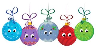 Free Stylized Christmas Ornaments Image 1 Royalty Free Stock Photography - 166385597