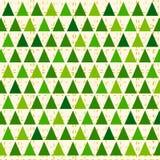 Stylized Christmas pattern Stock Images