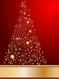 Stylized Christmas tree Stock Photos