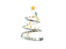 Stylized christmas tree Royalty Free Stock Image