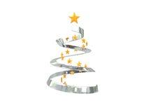 Stylized christmas tree Royalty Free Stock Image