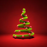Stylized Christmas tree Royalty Free Stock Photos
