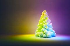 Stylized Christmas tree Stock Photo