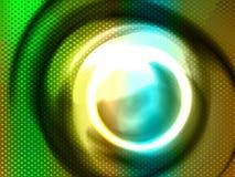 Stylized circles,  Royalty Free Stock Photography