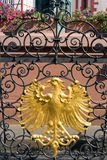 Stylized coat-of-arms of Frankfurt Stock Photo